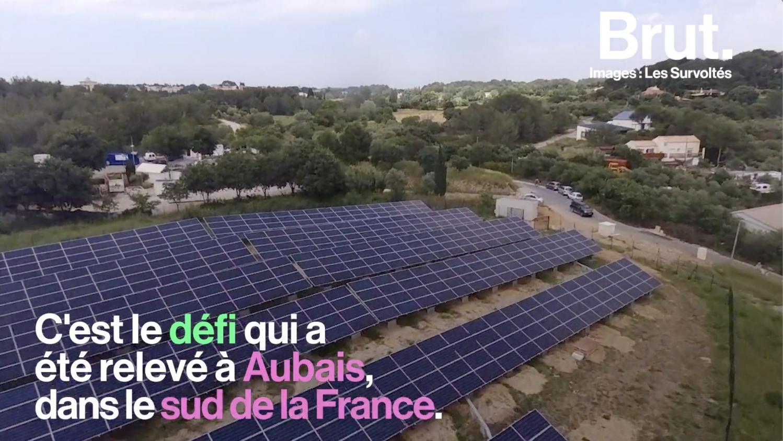 VIDEO. À Aubais, un parc photovoltaïque financé, créé et géré par des citoyens