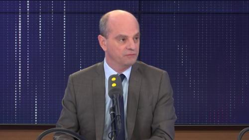 """VIDEO. Réforme des retraites : """"On n'a pas tellement vu le caractère constructif"""", de la CGT estime Jean-Michel Blanquer"""