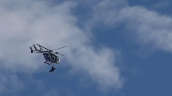 Isère : l'entraînement des gendarmes de haute montagne