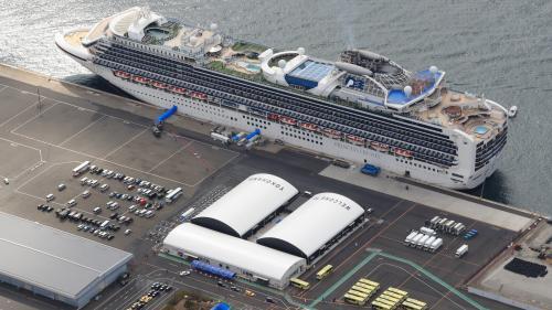 "Covid-19 : 500 passagers du ""Diamond Princess"" débarqués"