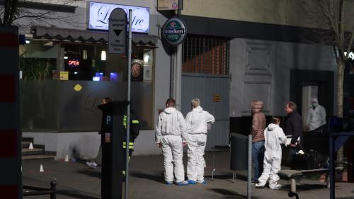 Allemagne : huit personnes tuées dans deux fusillades visant des bars à chicha, le tireur présumé retrouvé mort à son domicile