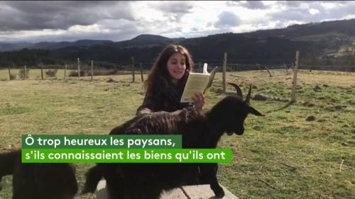 """VIDEO. Fanny Agostini lit un extrait des """"Géorgiques"""" du poète latin Virgile"""