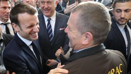 """DIRECT. Salon de l'agriculture : """"Rien ne doit justifier des actions contre nos agriculteurs"""", assure Emmanuel Macron"""