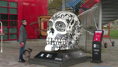 Après Lille 3000, les Mexicraneos célébrant la Fête des Morts s'installent à Paris dans le parc de la Villette