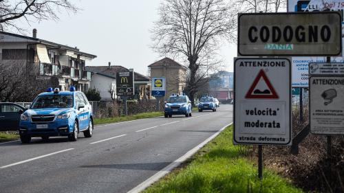Covid-19 en Italie : la ville de Codogno en quarantaine