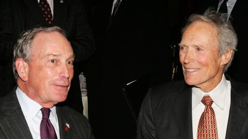 Présidentielles américaines : Clint Eastwood soutient Michael Bloomberg