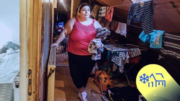 """TEMOIGNAGE. """"On dort à quatre dans une chambre"""" : Aurélie raconte les hivers """"invivables"""" de sa famille en précarité énergétique"""