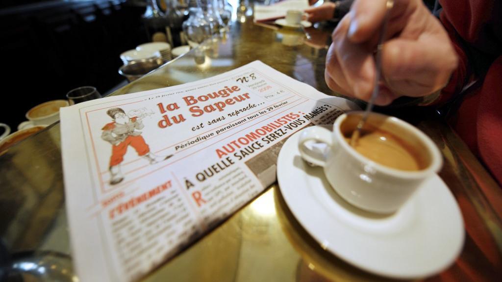 """VIDEO. """"La Bougie du Sapeur"""", le seul """"quotidien"""" qui sort uniquement le 29 février"""