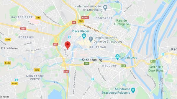 Strasbourg : un incendie fait cinq morts et sept blessés, selon les pompiers