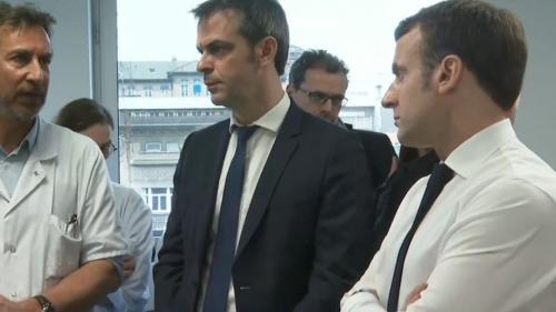 """DIRECT. Covid-19 : """"On a devant nous une crise, une épidémie qui arrive"""", déclare Emmanuel Macron en visite à l'hôpital de la Pitié-Salpêtrière"""