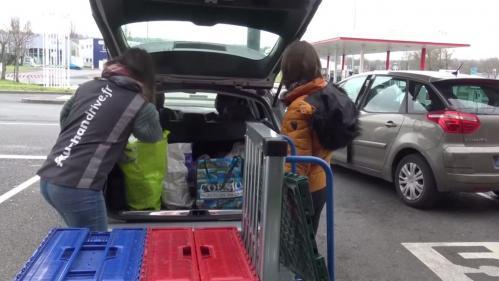 """""""Il n'y avait plus rien"""" : dans l'Oise, la présence du Covid-19 cause un afflux de clients dans les supermarchés"""