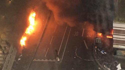 Paris : la station Gare de Lyon évacuée après des échauffourées et des incendies allumés en marge d'un concert d'une star congolaise, annonce la préfecture