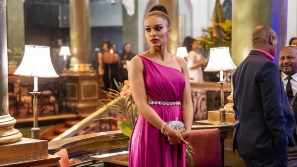 L'actrice sud-africaine Pearl Thusi joue une espionne dans la série Queen Sono.