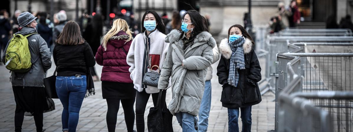 masque grippe coronavirus