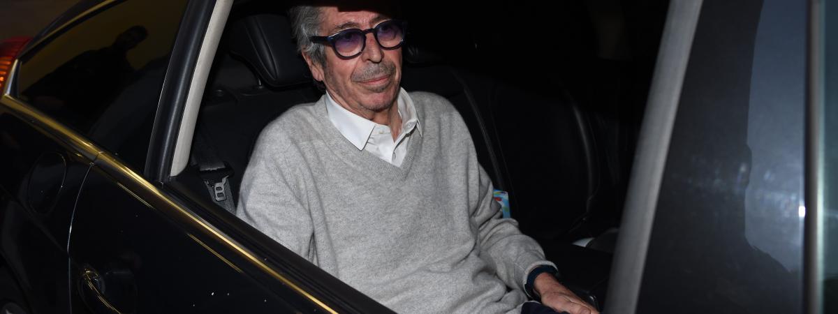 Patrick Balkany à sa sortie de prison, en février 2020.