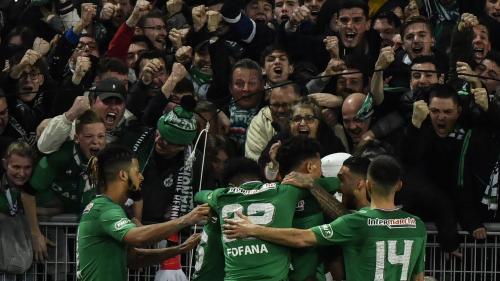 Coupe de France : Saint-Etienne rejoint le PSG en finale, grâce à sa victoire sur le fil contre Rennes (2-1)