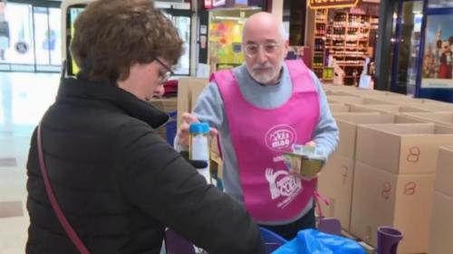Covid-19 : la collecte de dons des Restos du CSur perturbée