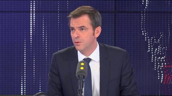 """Olivier Véran, ministre de la Santé, était l'invité du """"8h30 franceinfo"""" mardi 10 mars 2020"""