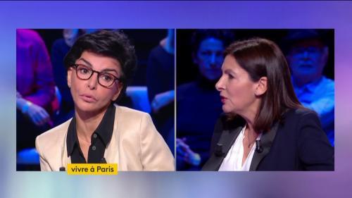"""Paris, le grand débat : """"Je ne suis pas votre élève madame Hidalgo"""" lance Rachida Dati interpellée sur la question du parc social"""