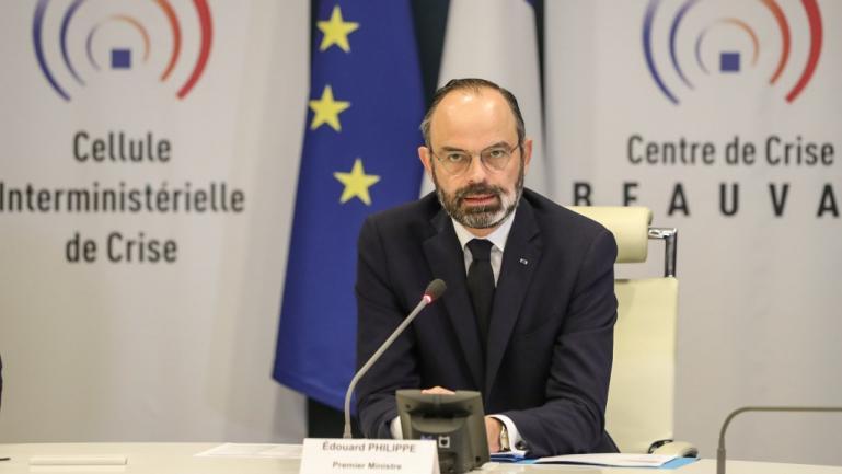 Edouard Philippe, à Paris, le 13 mars 2020.