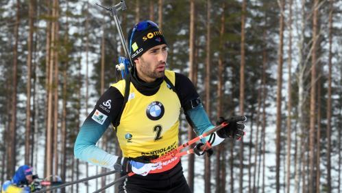 Biathlon : Martin Fourcade termine sa carrière avec une victoire en poursuite, mais finit deuxième de la Coupe du monde