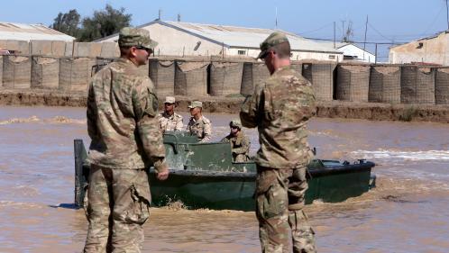 Irak : une base américaine de nouveau la cible de roquettes, trois jours après une attaque mortelle
