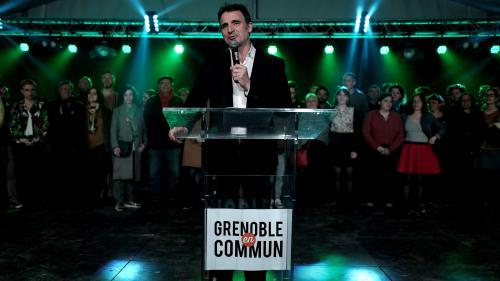 Municipales 2020 : à Grenoble, le maire écologiste Eric Piolle largement en tête au premier tour avec 46,2%, selon une estimation Ipsos/Sopra Steria