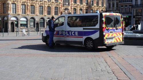 Confinement :la police dans la rue