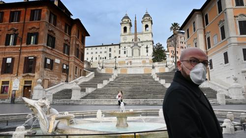 Coronavirus en Italie : un léger mieux observé
