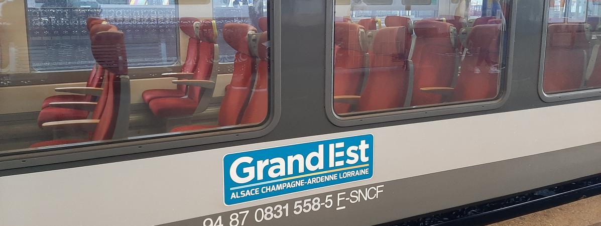 Un TER Grand-Est en gare de Strasbourg (illustration).