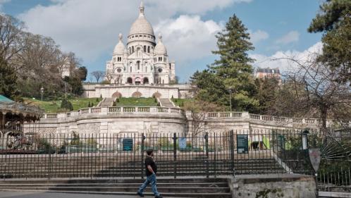 A Paris, la basilique du Sacré-CSur ferme pour la première fois