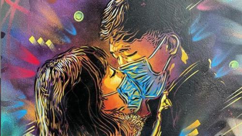 Coronavirus : l'artiste urbain C215 met en vente des tirages de sa dernière oeuvre au profit de la Fondation Hôpitaux de France