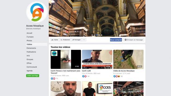 Cours de sport, débats... Pendant le confinement, une association d'un quartier populaire en Moselle propose des vidéos en direct sur Facebook
