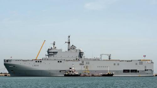 Coronavirus : un navire militaire à Ajaccio pour évacuer des malades vers Marseille