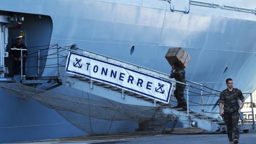 DIRECT. Coronavirus : un navire militaire à Ajaccio pour transférer des malades vers Marseille