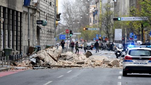 Croatie : un séisme de magnitude 5,3 a fait au moins un mort à Zagreb