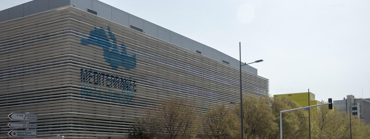 L\'Institut hospitalo-universitaire Méditerranée Infection (IHU) de Marseille, le 19 mars 2020.