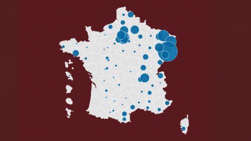 INFOGRAPHIES. Coronavirus : nombre de décès par département, âge des malades, réanimations... Visualisez l'évolution de l'épidémie en France et en Europe