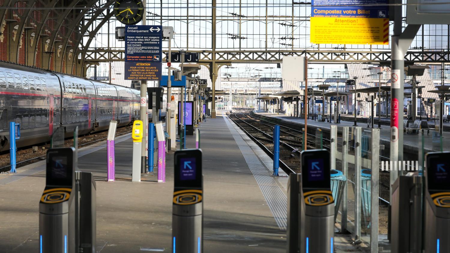 """SNCF annonce un plan de transport """"minimal dès ce week-end"""", un aller-retour TGV maximum entre les grandes métropoles"""