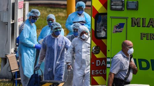 Coronavirus : le nombre de cas aux Etats-Unis dépasse celui de la Chine