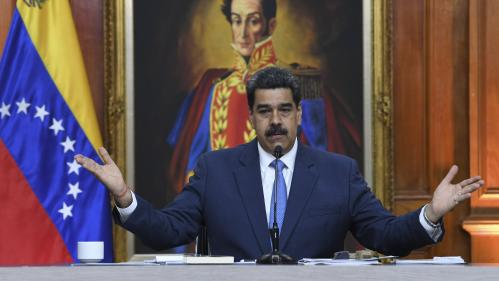 """Venezuela : le président Nicolas Maduro inculpé aux Etats-Unis pour """"narco-terrorisme"""""""