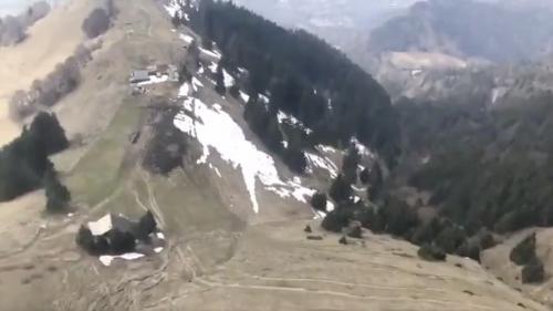 Haute-Savoie : les contrôles du respect du confinement ont lieu par hélicoptère