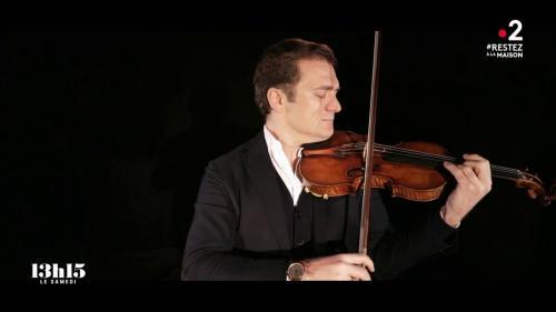 """VIDEO. Le violon du soliste Renaud Capuçon est """"aussi exceptionnel qu'un Manet ou un Modigliani"""""""