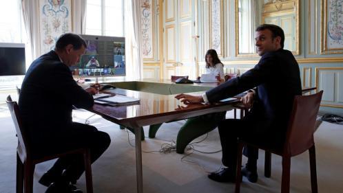 """Coronavirus : """"J'ai abordé cette crise avec sérieux et gravité"""", se défend Emmanuel Macron dans trois quotidiens italiens"""