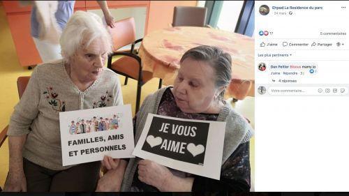 Coronavirus : à l'Ehpad d'Audincourt, les résidents gardent le lien avec leurs proches grâce aux réseaux sociaux
