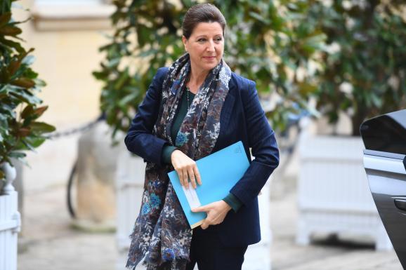 La ministre de la Santé, Agnès Buzyn, le 8 février 2020 à Matignon (Paris), à l\'occasion d\'un point presse sur l\'épidémie de Covid-19.