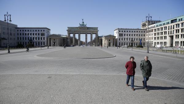 Coronavirus : les Berlinois redécouvrent leur ville, privée de touriste