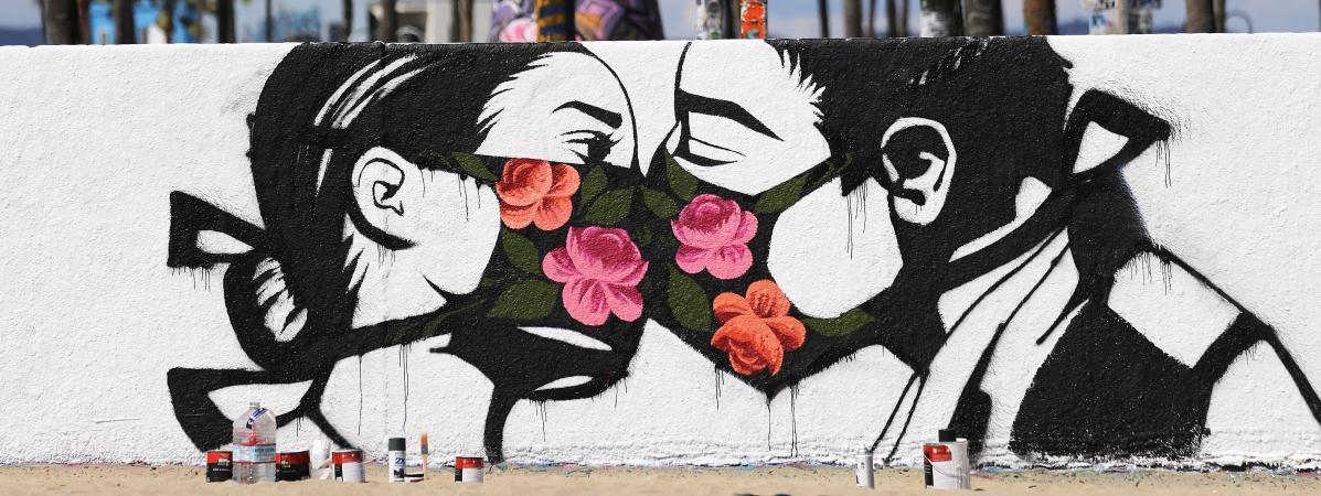 Coronavirus : tour du monde des plus belles œuvres de street art ...