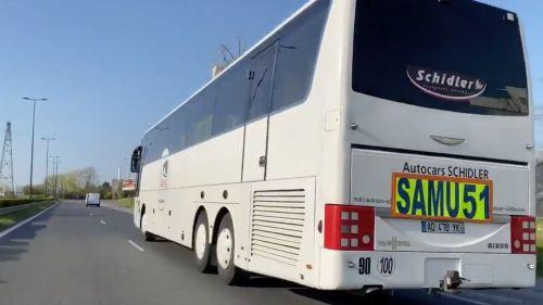 Coronavirus : pourquoi un bus médicalisé avec 8 patients du CHU de Reims en route pour Tours a fait demi-tour?