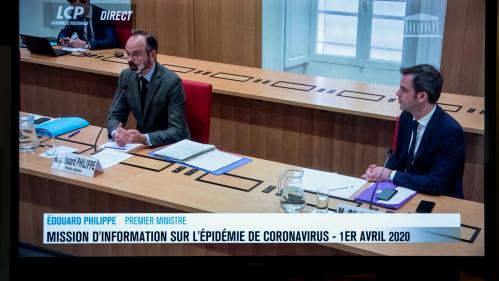Coronavirus : Edouard Philippe et Olivier Véran ont été auditionnés par visioconférence